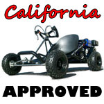 ScooterX Sport Kart California approved