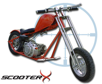ScooterX 198cc Mini Chopper