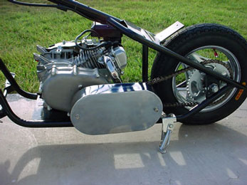 198cc Mini Chopper by SkaterX - 198cc 4 stroke engine with chain drive