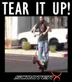 TEAR IT UP! SCOOTER X ROCKS!