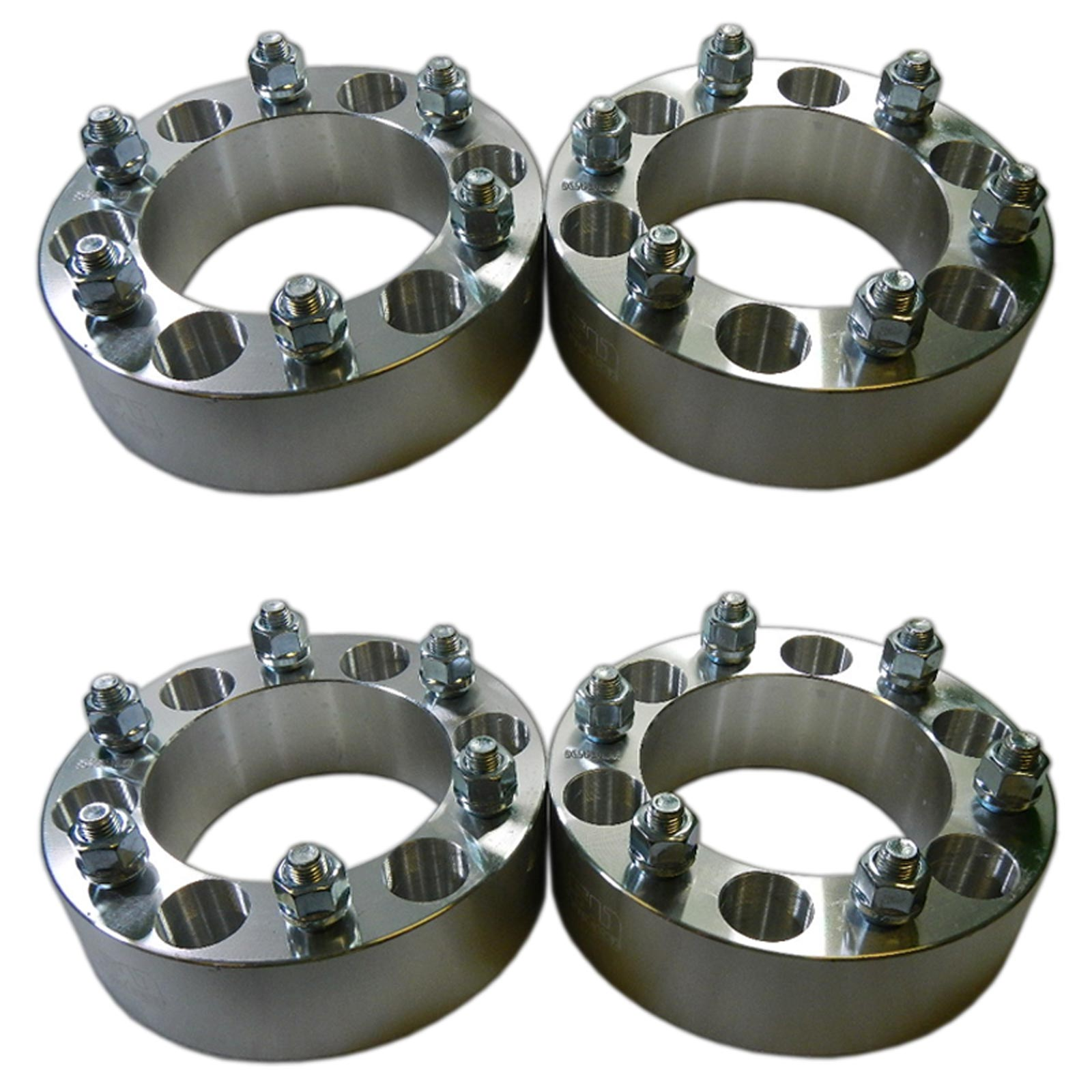 "Four 6x5.5 139.7 Wheel Spacers 2"" Thick 12mm Lug 4Runner"