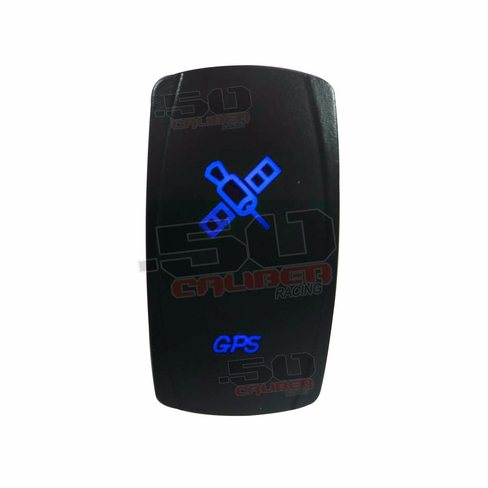 LASER ETCHED 12V LED BACK LIT ROCKER SWITCH BLUE FAN RZR Can Am XP1000 XP4