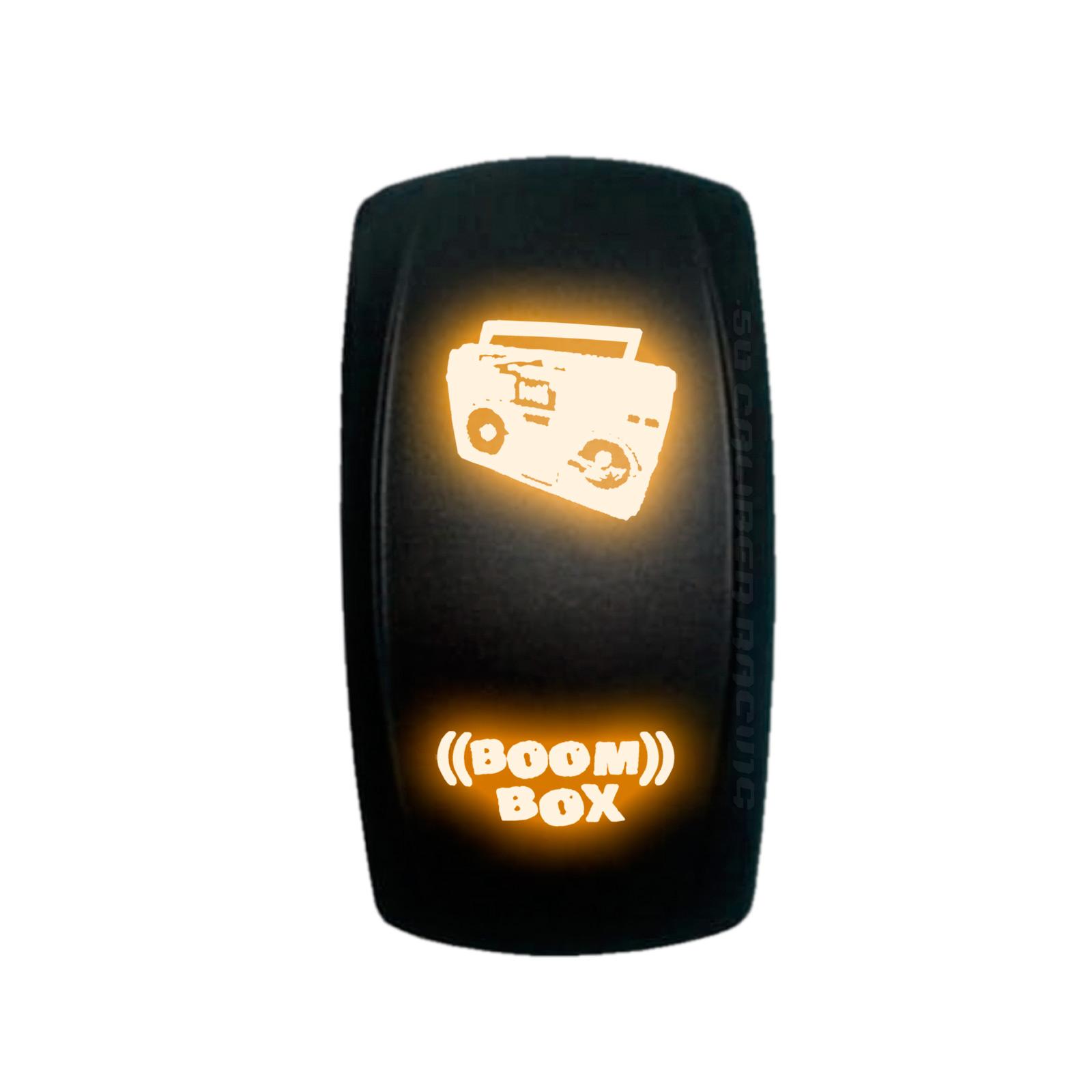 Rocker Switch Mudflap Girl Rock Lights RZR Maverick X3 YXZ1000R Ranger Orange