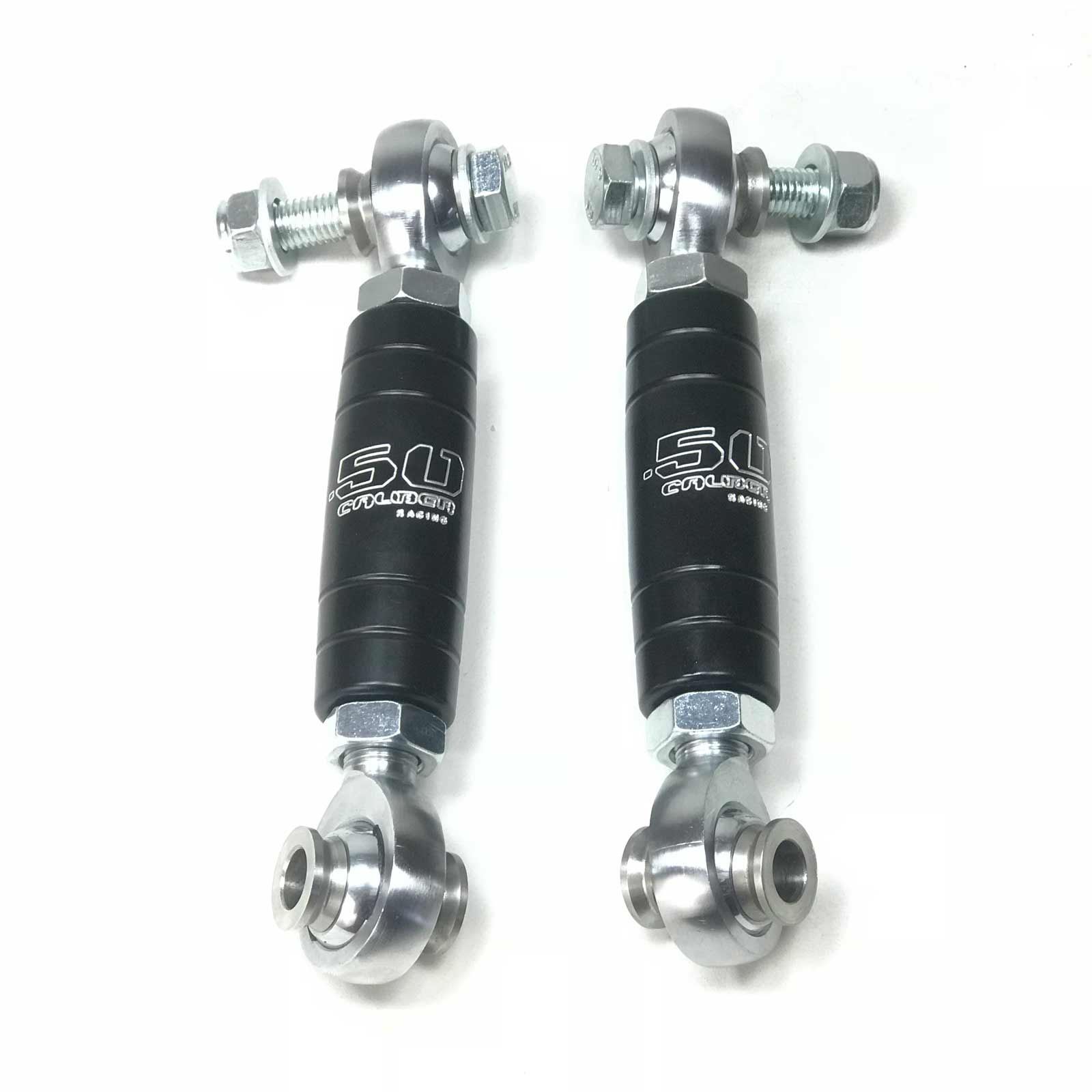Black Billet Aluminum Rear Sway Bar End Links 2018 Can-Am Maverick X3 2 /& 4 Seat